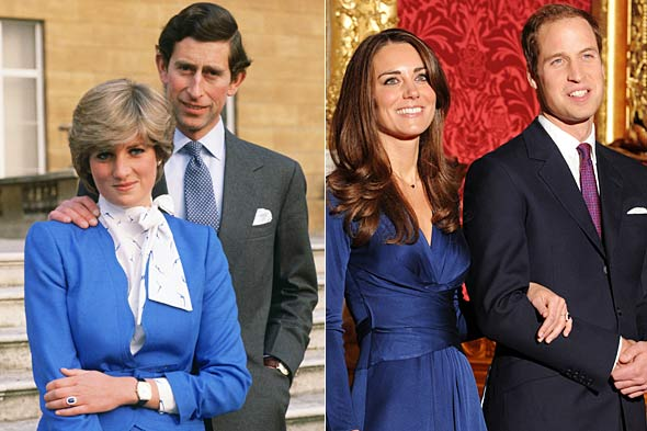 prince william gives kate middleton dianas engagement ring 590bes1116101 Βασιλικός αρραβώνας