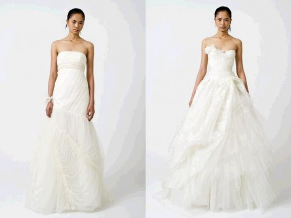 Vera Wang New Collection Spring 2011