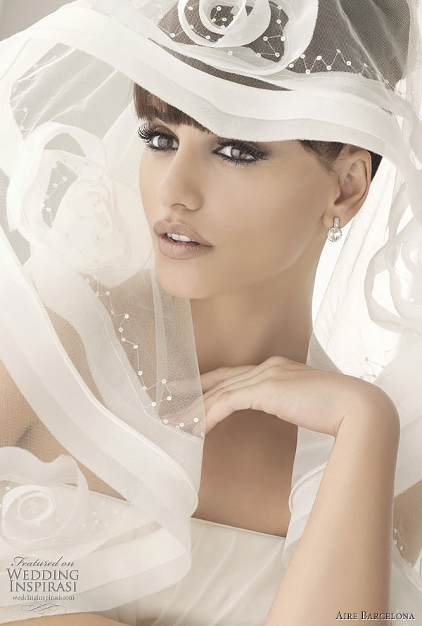 weddingstylist veil monica cruz aire barcelona veil 20115 Πέπλο μυστηρίου