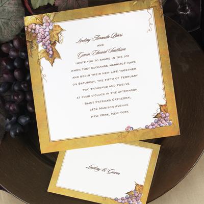 weddingstylist invitationgrape.1 Στην υγειά σας, με ένα μπουκάλι κρασί