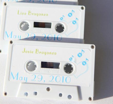 weddyngstylist tape1 Οι παλίες μουσικές κασέτες, επιστρέφουν