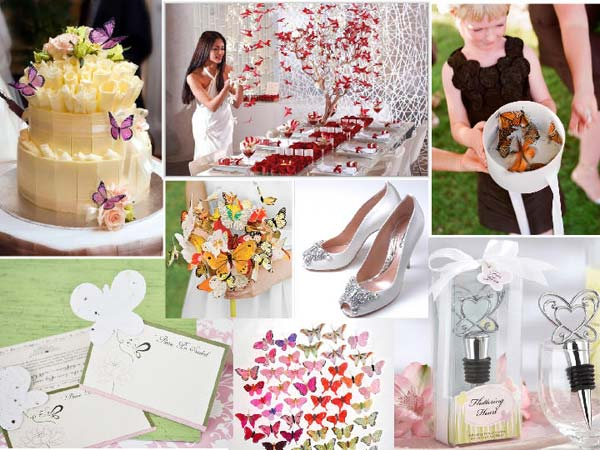 weddingstylist butterflyA Πεταλούδες...θέμα γάμου