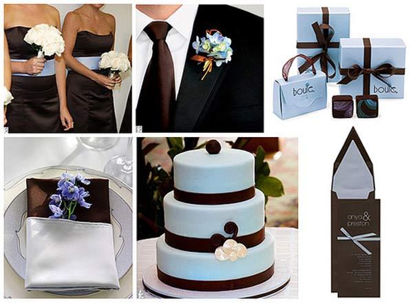 weddingstylist Ablue brown Τι λένε τα χρώματα του γάμου σας, για εσάς