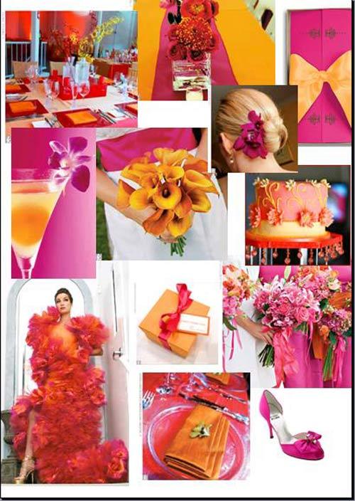 weddingstylist Apinkorange Τι λένε τα χρώματα του γάμου σας, για εσάς