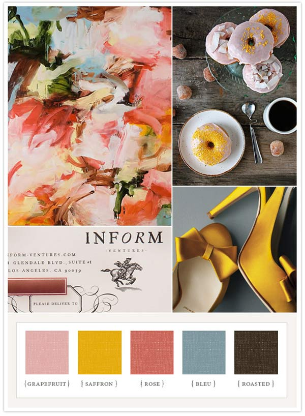 weddingstylist  Acolorboard Τι λένε τα χρώματα του γάμου σας, για εσάς