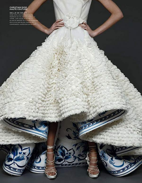 weddingstylist blue skirt w Κάτι μπλε για τον γάμο σας;