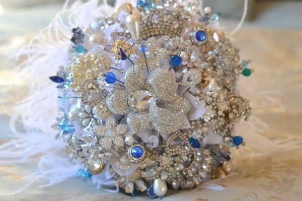 weddingstylist bouquet2 Κάτι μπλε για τον γάμο σας;