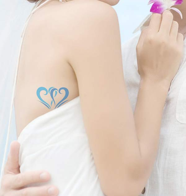 weddingstylist tatoo3 Κάτι μπλε για τον γάμο σας;