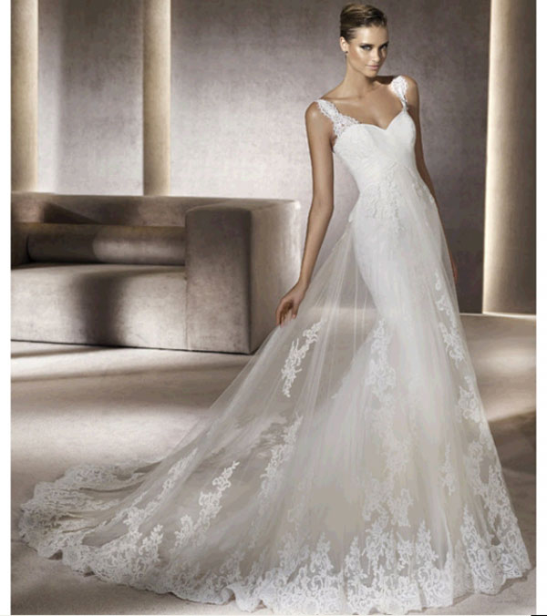 weddingstylist pronovias1 Pronovias Bridal Collection 2012