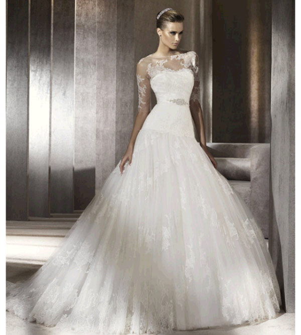 weddingstylist pronovias3 Pronovias Bridal Collection 2012