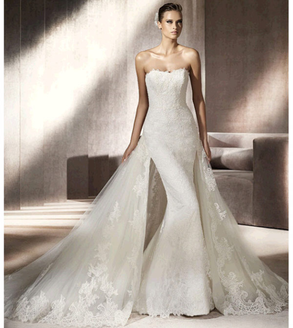 weddingstylist pronovias41 Pronovias Bridal Collection 2012