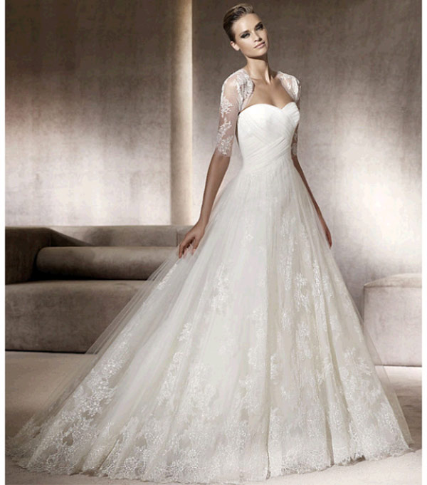 weddingstylist pronovias5 Pronovias Bridal Collection 2012