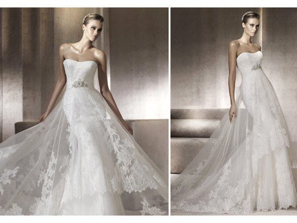 weddingstylist pronovias6 Pronovias Bridal Collection 2012