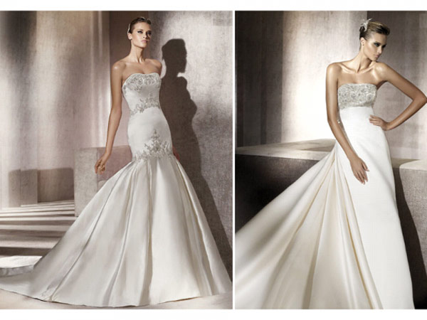 weddingstylist pronovias7 Pronovias Bridal Collection 2012