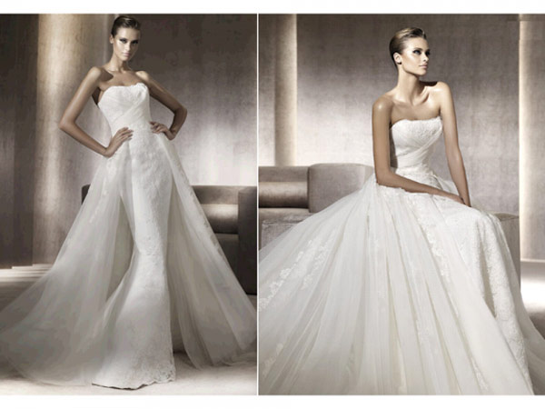weddingstylist pronovias8 Pronovias Bridal Collection 2012