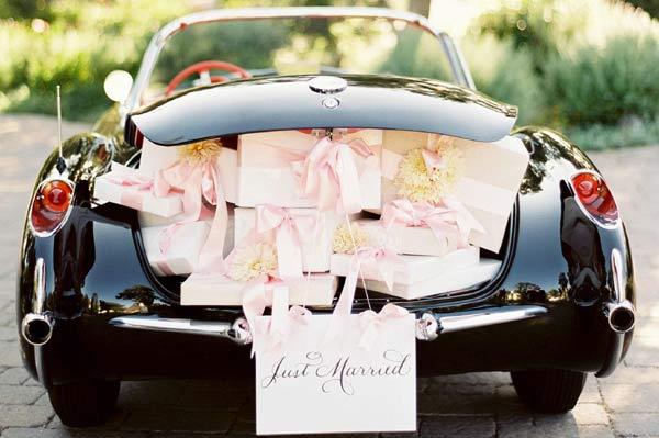 weddingstylist carB Αυτοκίνητο για τους νεόνυμφους