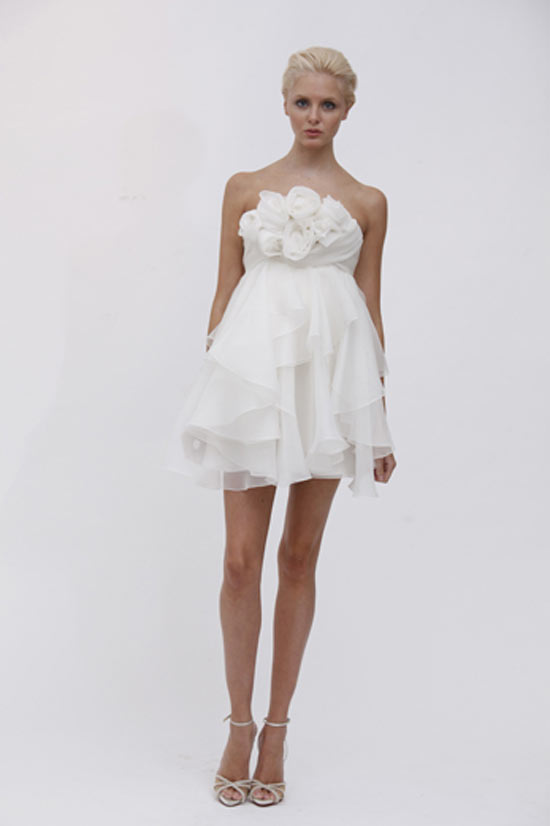 weddingstylist marchesafran Marchesa Bridal Spring 2012