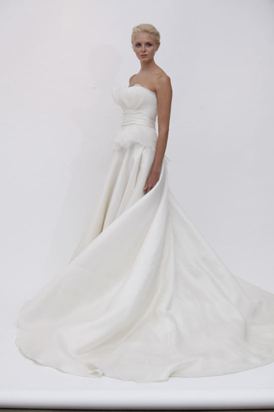 weddingstylist marchesajose1 Marchesa Bridal Spring 2012