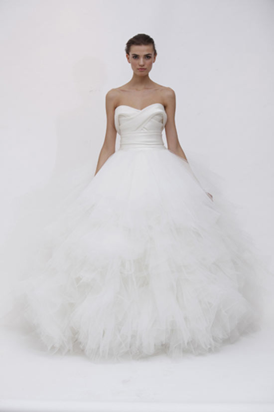 weddingstylist marchesaloui Marchesa Bridal Spring 2012