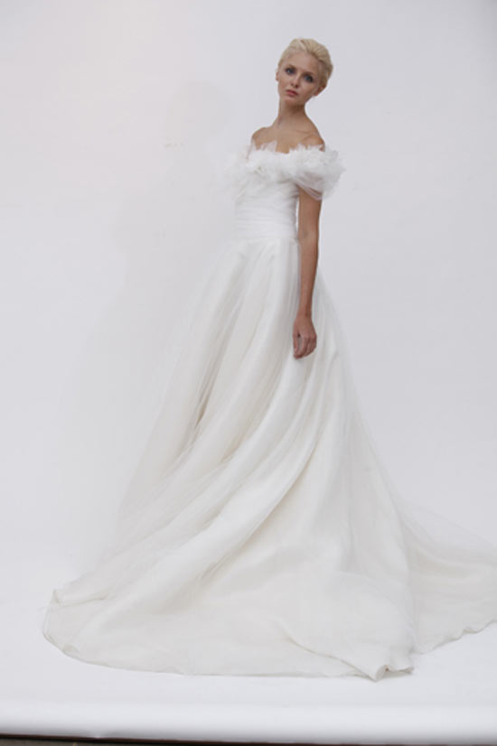 weddingstylist marchesavane Marchesa Bridal Spring 2012