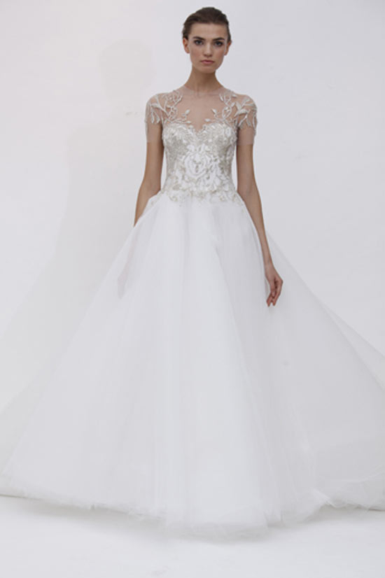 weddingstylist marchesaviol Marchesa Bridal Spring 2012