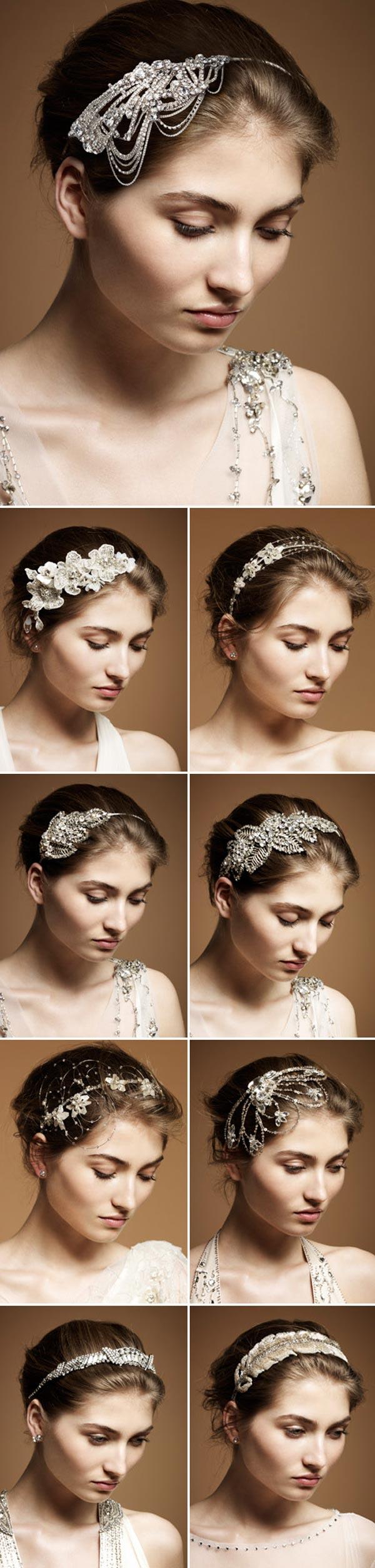 weddingstylist Jenny Packha Αξεσουάρ για τα μαλλάκια από την Jenny Packham