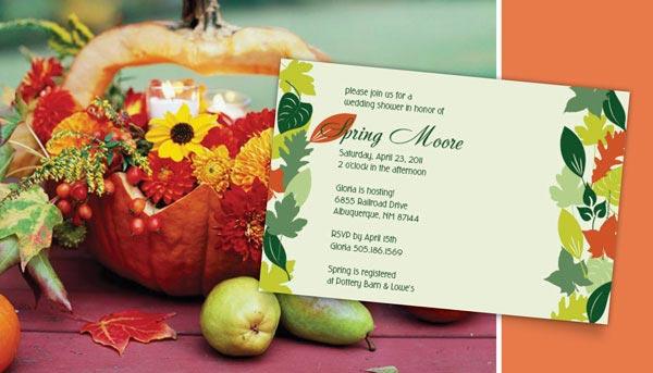 weddingstylist color invit2 Πρό(σ)κληση φθινοπώρου