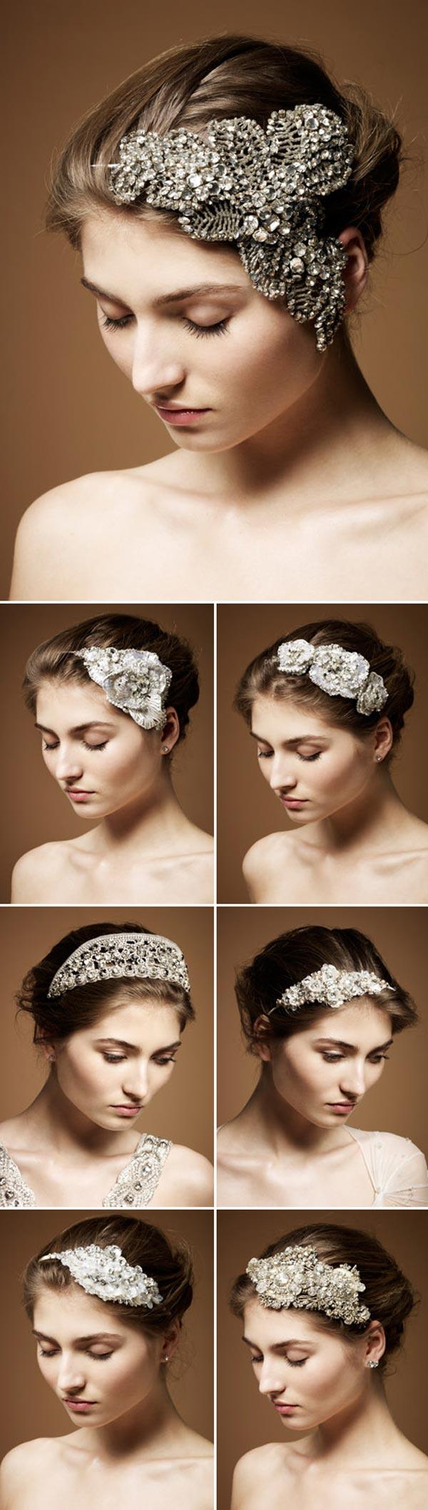 weddingstylist jenny packma Αξεσουάρ για τα μαλλάκια από την Jenny Packham