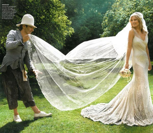 weddingstylist katemoss11 To νυφικό της Kate Moss