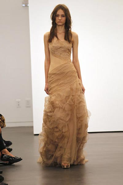 weddingstylist verawang Vera Wang Wedding Dresses/ Fall 2012