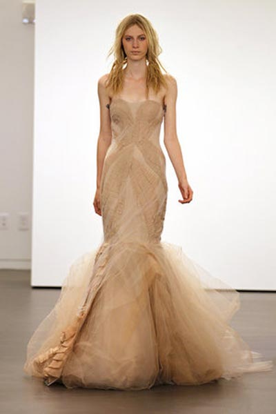 weddingstylist verawang1 Vera Wang Wedding Dresses/ Fall 2012