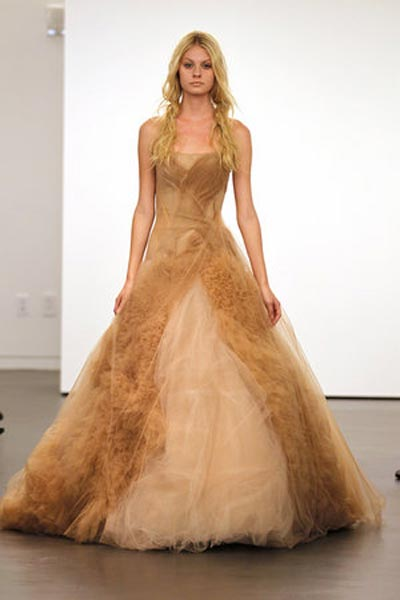 weddingstylist verawang4 Vera Wang Wedding Dresses/ Fall 2012