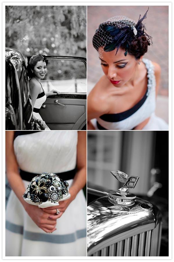 weddingstylist hollywood2 Γάμος εμπνευσμένος από το Hollywood με vintage στοιχεία