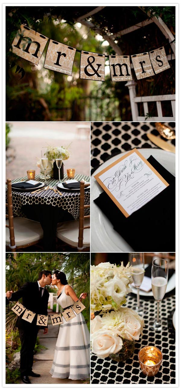 weddingstylist hollywood5 Γάμος εμπνευσμένος από το Hollywood με vintage στοιχεία