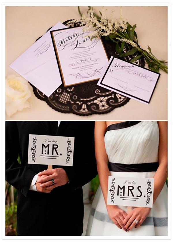 weddingstylist hollywood7 Γάμος εμπνευσμένος από το Hollywood με vintage στοιχεία