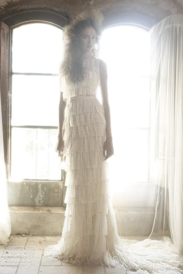 weddingstylist ir de bundo Ir de Bundό Wedding Dresses 2012