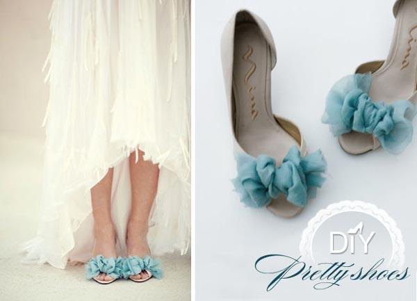 weddingstylist shoes 01 Στολίστε τα παπούτσια σας D.I.Y