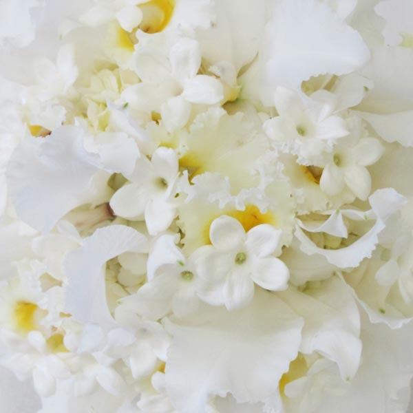 weddingstylist whiteflower3 Άσπρα λουλούδια στον γάμο σας