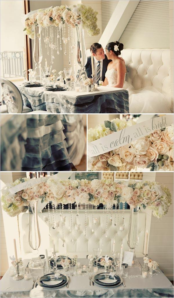 weddingstylist winder7 Ιδέα για χειμερινό γάμο