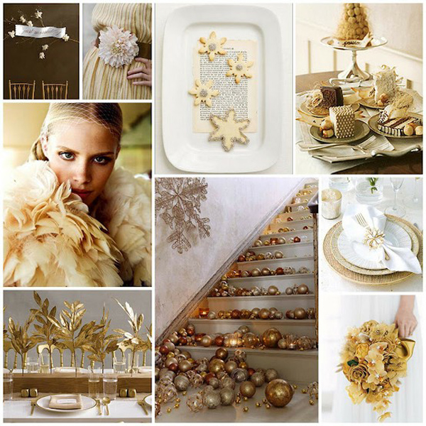 weddingstylist golddec3 Χρυσός γάμος