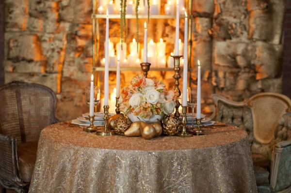 weddingstylist golddec4 Χρυσός γάμος