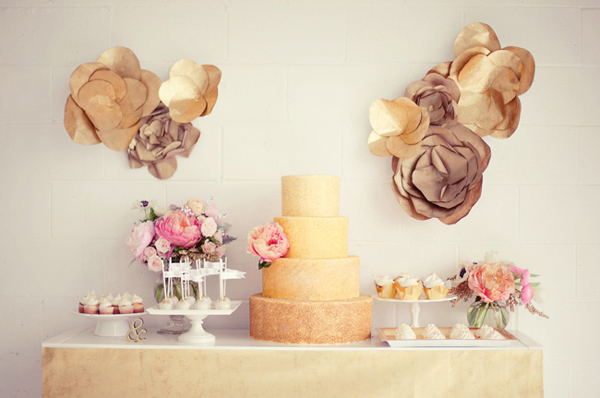 weddingstylist golddec8 Χρυσός γάμος