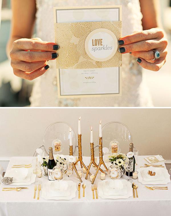 weddingstylist golddec9 Χρυσός γάμος