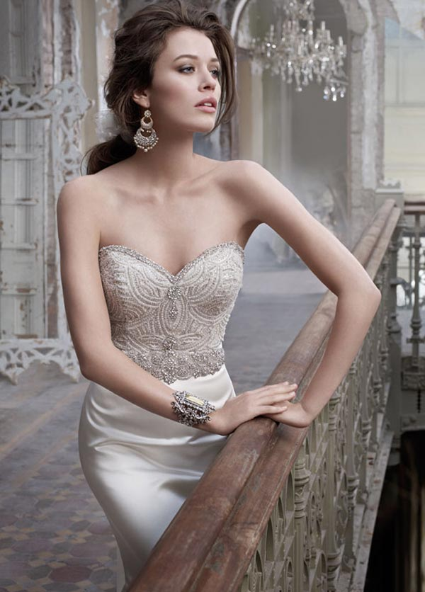 weddingstylist lazaro2012 Lazaro Bridal Collection Spring/Summer 2012