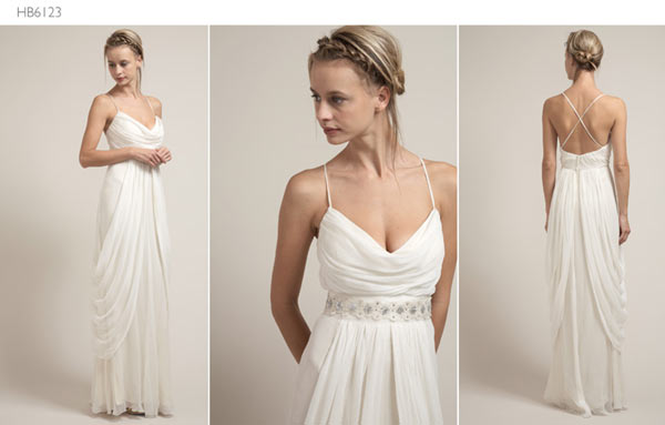 weddingstylist saja1 Saja Wedding Dresses 2012