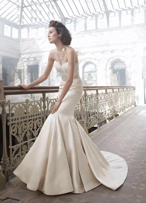 weddingstyst lazaro20122 Lazaro Bridal Collection Spring/Summer 2012