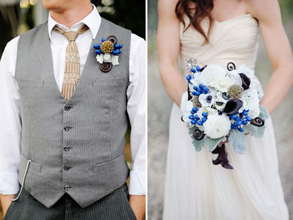 weddingstylist wedding flowers bouqette Σαν από Παραμύθι του…Χόλυγουντ!