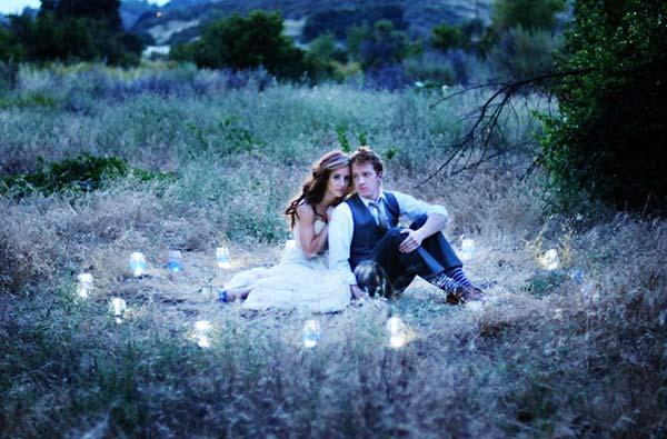 ws wedding candles Σαν από Παραμύθι του…Χόλυγουντ!