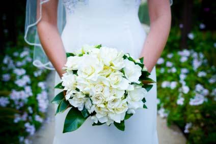 weddingstylist gardeniabouquet Τα 10 πιο δημοφιλή λουλούδια για γάμο