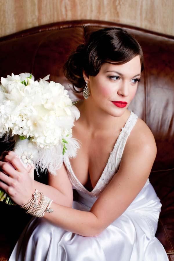 weddingstylist 1930 hairstyle wedding Οι νυφικές κομμώσεις μπαίνουν στην μηχανή του χρόνου!